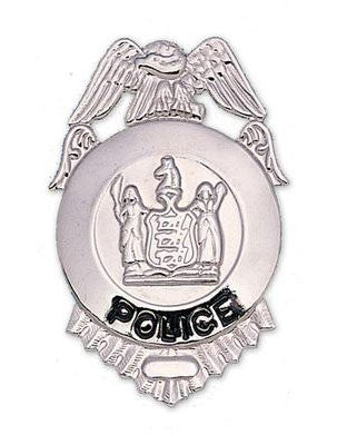 Police Metal Badge - Theatrical Accessories