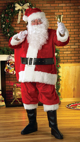 Santa Suit - Premier Plush Christmas Costume