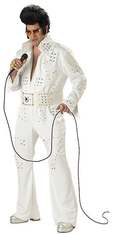 White Rock Adult Costume - Plus Size Rock Legend
