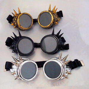 Goggles - Spiked Steampunk