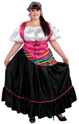 Senorita Plus Adult Costume