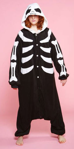 Skeleton Pajama Costume - Japanese Cosplay
