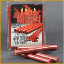 "Red ""Hot Blood"" Non Glue Sticks  1-1009"