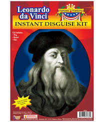 Leonardo da Vinci Disguise Kit  8-70762