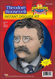 Theodore Roosevelt Disguise Kit