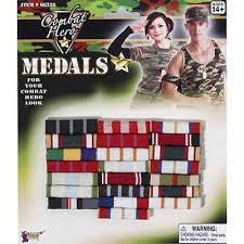 Military ribbon medals  8-66226