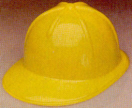 Construction Helmet - Plastic