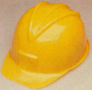 Construction Helmet - Hard Plastic