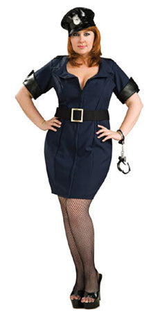 Sexy Police Girl - Plus Size