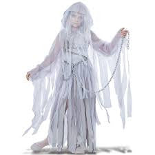Ghost Haunted Beauty  Child's Costume