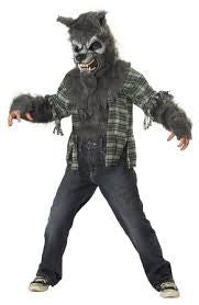 Werewolf-Child's Costume