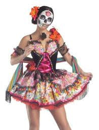 Day of the Dead Woman's Costume