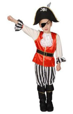 Deluxe Pirate Boy Costume