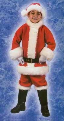 Santa Suit - Childs Costume