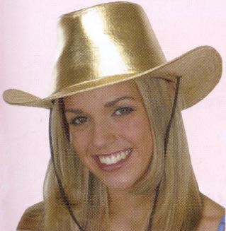 Metallic Gold Cowboy Hat