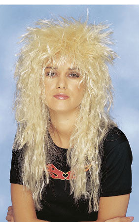 80s Wig - Heavy Metal Blonde