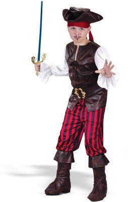 High Seas Buccaneer Costume - Childs