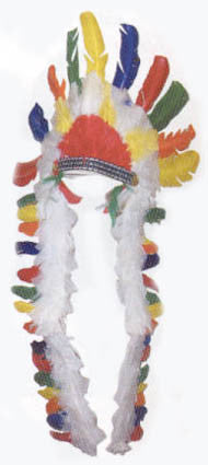 Indian Feathered Headdress - style 2
