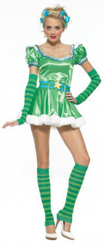 Patty Green Girl Costume