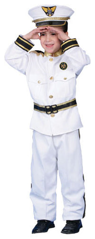 Navy Admiral Costume - kids