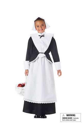 Pilgrim Costume - Girls Costume