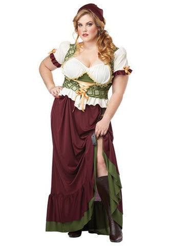 Wench, Renaissance Plus Size