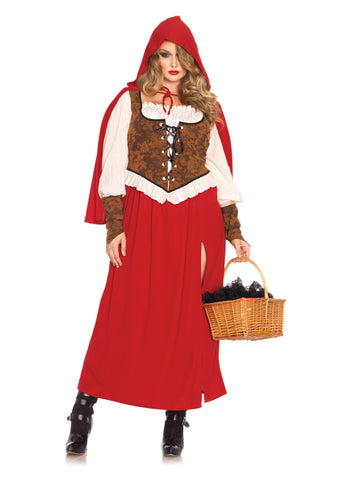 Red Riding Hood Plus Size