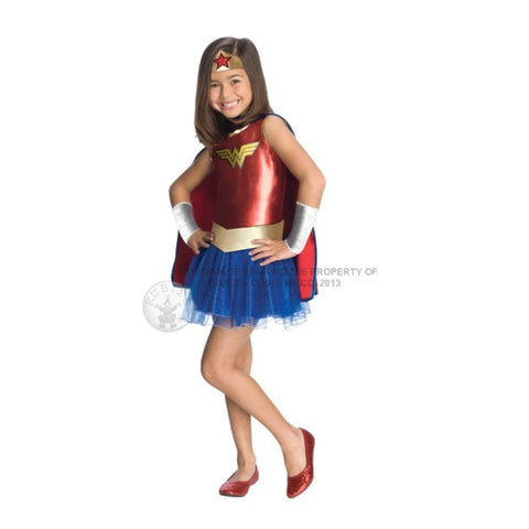 Girls Wonder Woman Tutu Costume Set  1-881629