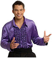 Purple Disco shirt