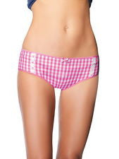 Gingham Boy shorts Pink or Blue