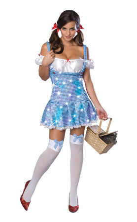 Sexy Sequin Dorothy Adult Costume