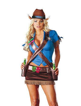 Shoot'em Up Cowgirl Costume