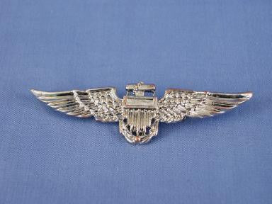 Silver Aviator Pin