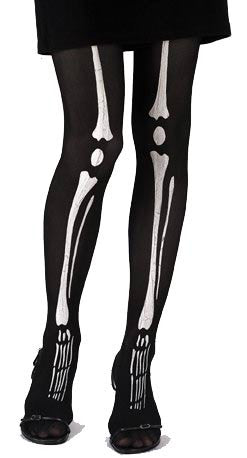 Skeleton Bone Pantyhose