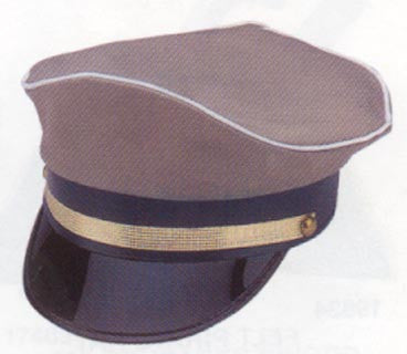 Military Hat with Adjustable Back