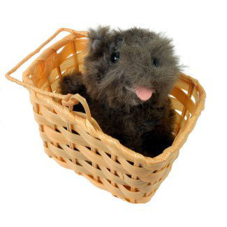 Toto in a Basket - Wizard of Oz Dorothy Accessory