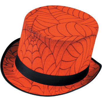 Spiderweb Top Hat (webprint)