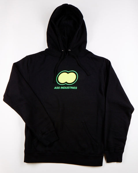 Ass Industries Logo Hooded Sweatshirt