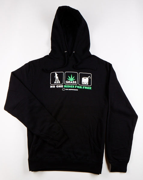 Ass Grass or Gas Hooded Sweatshirt