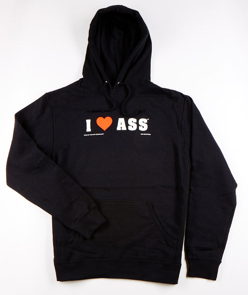 I ❤ ASS® Hooded Sweatshirt