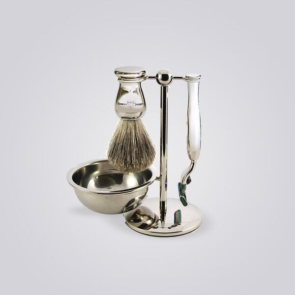 4 Piece Mach 3 Shaving Set