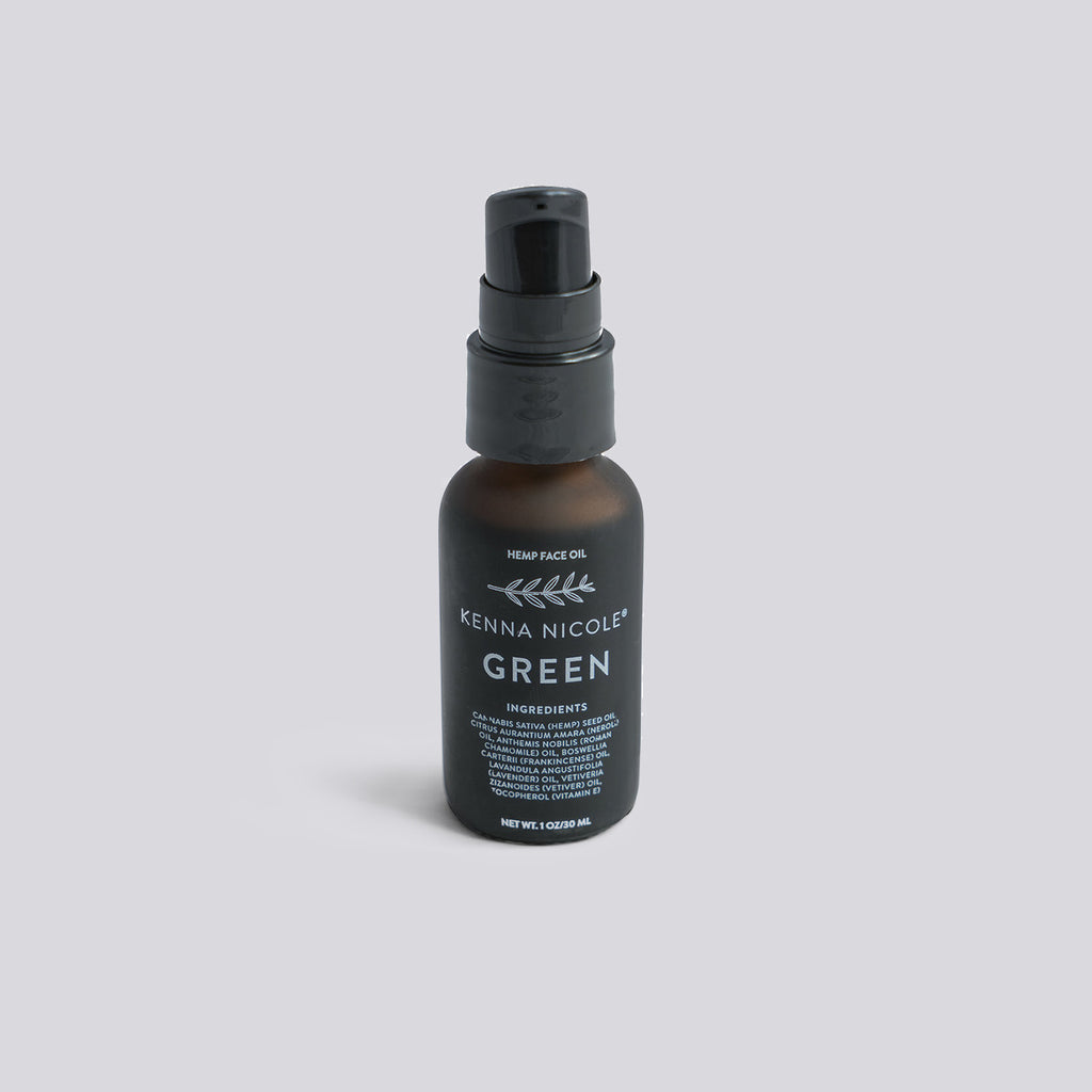 Green Hemp Face + Skin Oil