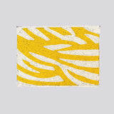 Yellow Zebra Clutch