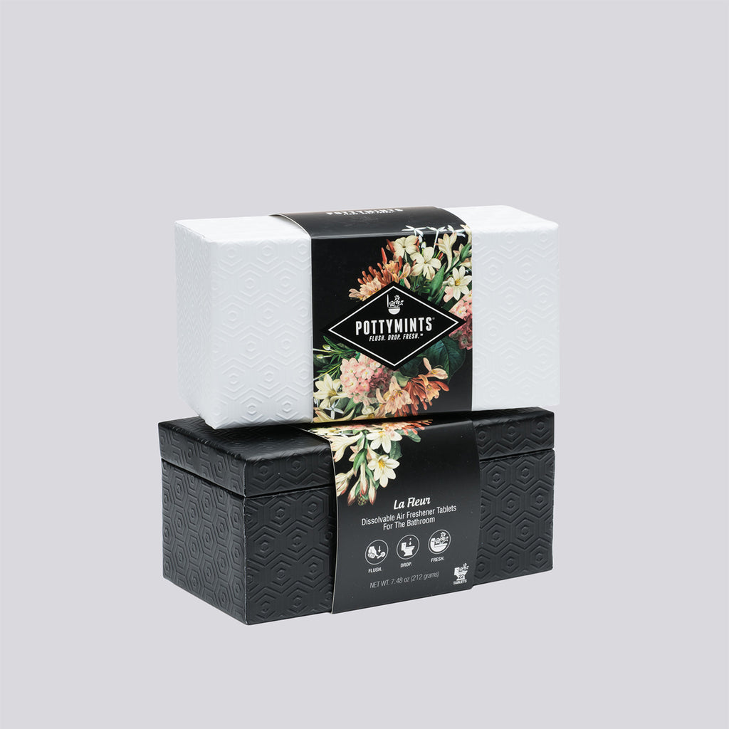 Embossed Box of 22 La Fleur