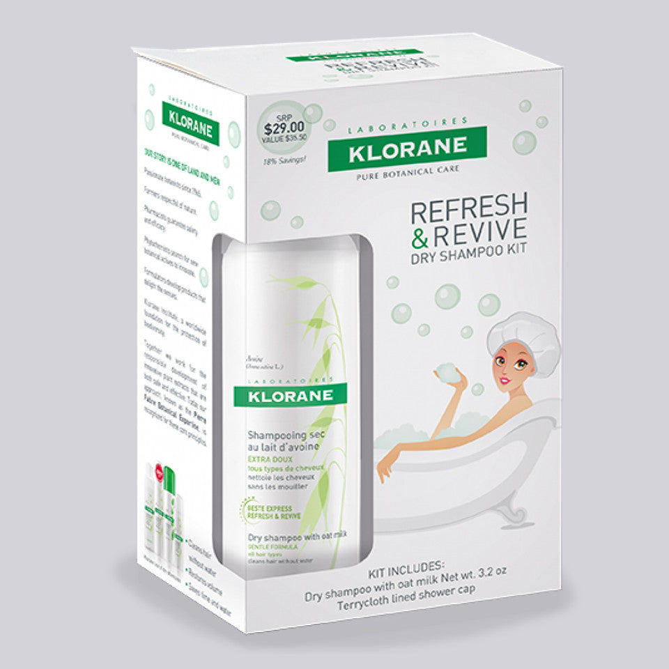 Refresh & Revive Dry Shampoo Kit