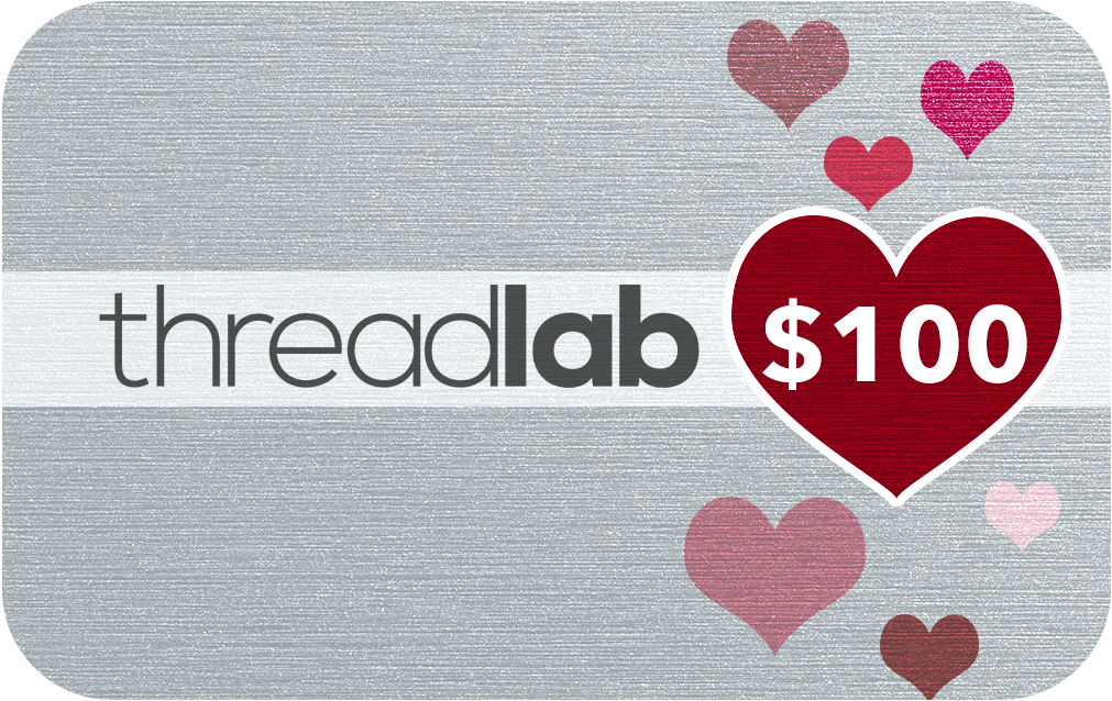 ThreadLab Love E-Gift Card $100