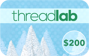 ThreadLab Winter $200 Gift Card