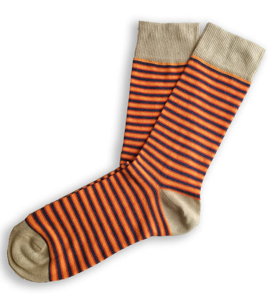 4 Pack of Moustard Dress Socks
