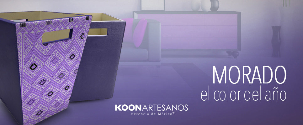 Morado el color del 2018