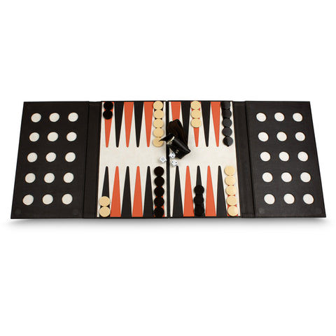 Backgammon plegable
